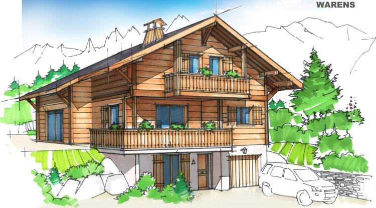 Maison bois Artis | Chalet Warens