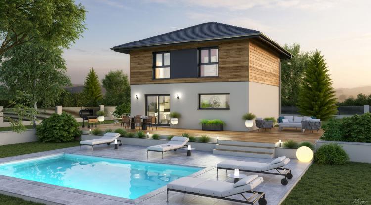 Modèle Hermance 115 | maison bois Artis