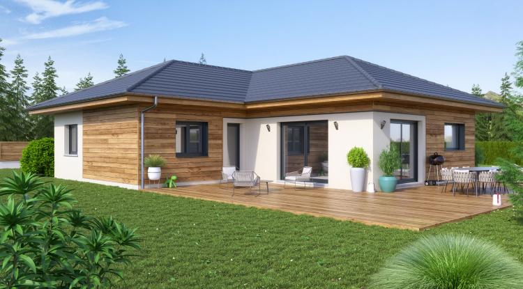 Modèle Arly 120   maison bois Artis