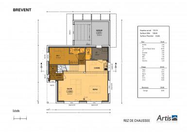 Plan modèle Brevent