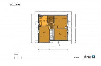Plan modèle Lauzière