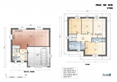 Plan modèle Praz