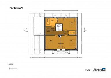 Plan modèle Parmelan sous-sol