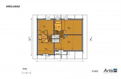 Plan modèle Arclusaz